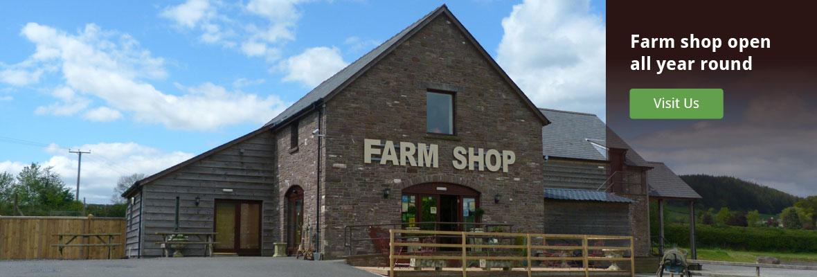 beacons farm shop at the welsh venison centre